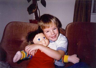 Chris & Buddy, late 1980's