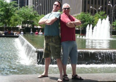 Chris & Dick, June 2008