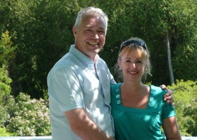 Jeanne & Dick, June 2008